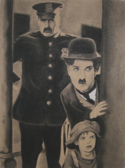 Charlie Chaplin by DOM